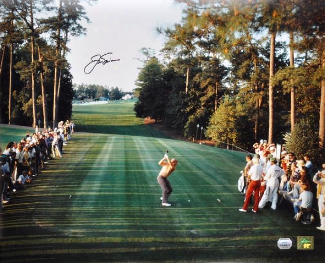 Jack Nicklaus Autographed Photograph  Details: 1986 Masters, 16x20
