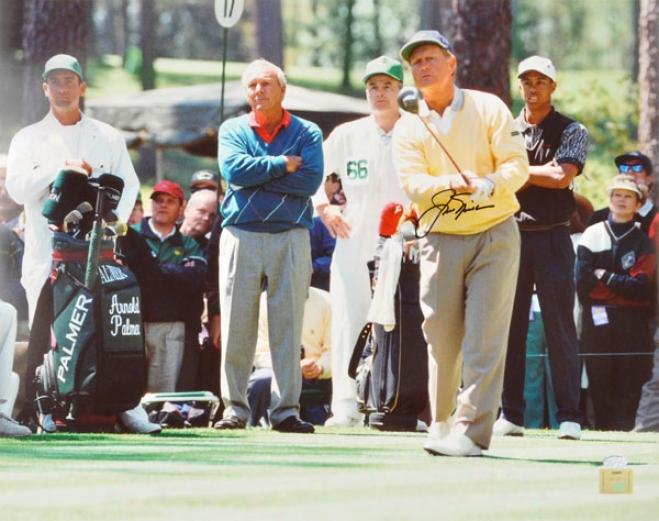 Jack Nicklaus Autographed Photograph  Details: 1996 Masters, 16x20