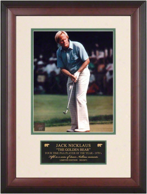 Jack Nicklaus Classic Moments #5 Framed Photograph