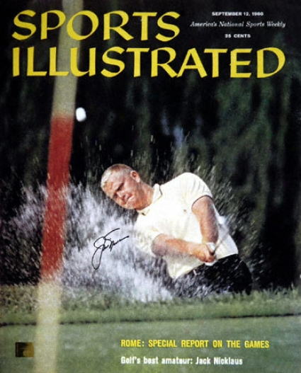 Jack Nicklaus - September 1960 Sports Illustrated Cover - Autographed 16x20 Photograph