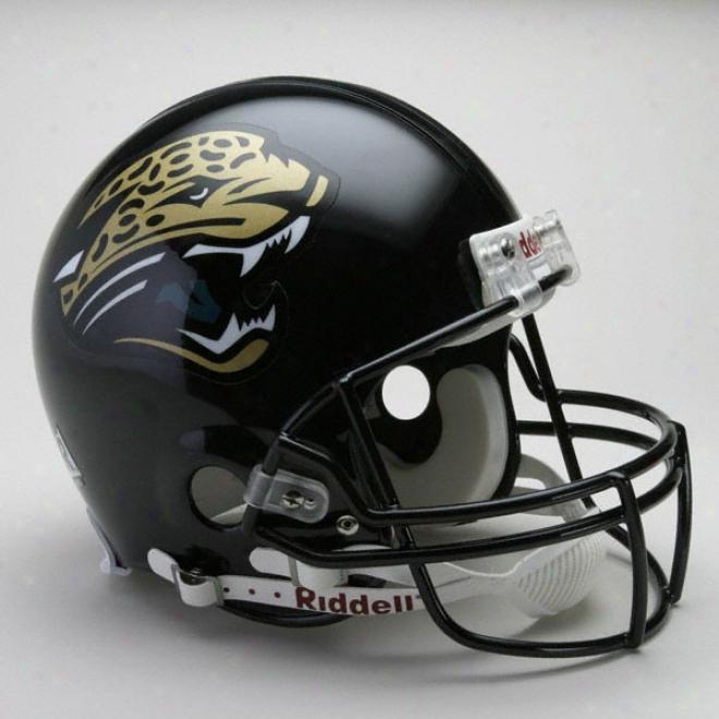 Jacksonville Jaguars Authentic Pro Line Riddell Full Size Helmet