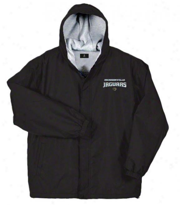 Jacksonville Jaguars Jacket: Black Reebok Legacy Jacket