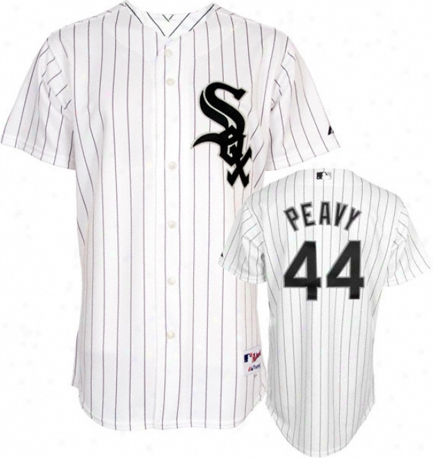 Jake Peavy Jersey: Adult Splendid Home Pinst5ipe Replica #44 Chicago White Sox Jersey
