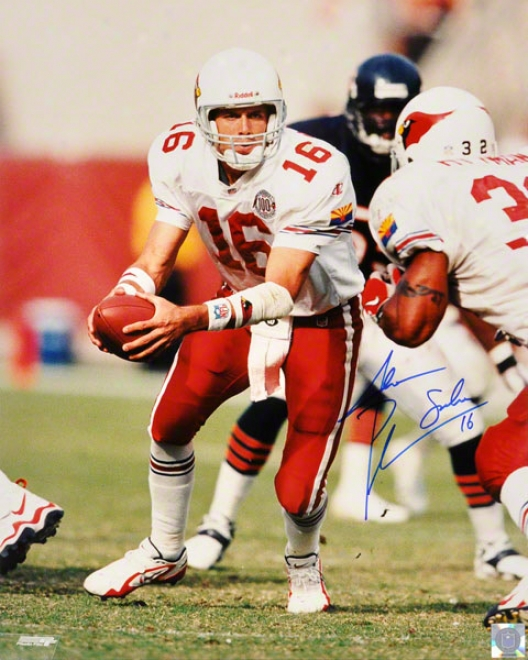 Jake Plummer Arizona Cardinals - Handing Off - 16x20 Autographed Photograph