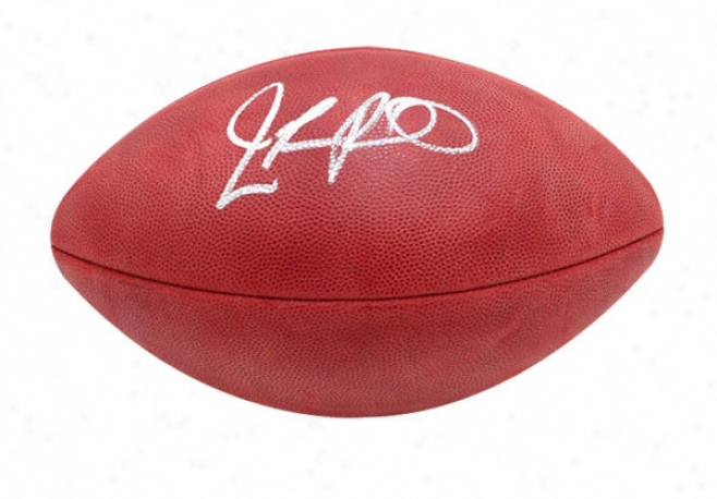 Jamarcus Russell Autographed Football  Details: Football