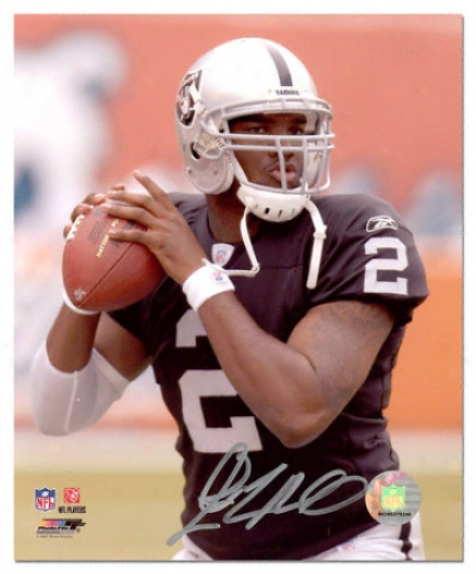 Jamarcus Russell Oakland Raiders Autographed 8x10 Photograph