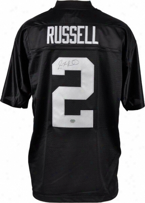 Jamarcus Russell Oakland Raiders Autographed Reebok Eqt Jersey