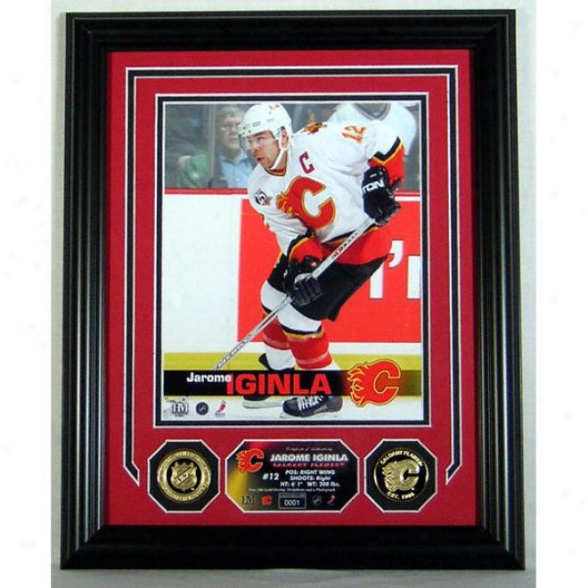 Jarome Iginla Calgary Flames Photo Mint