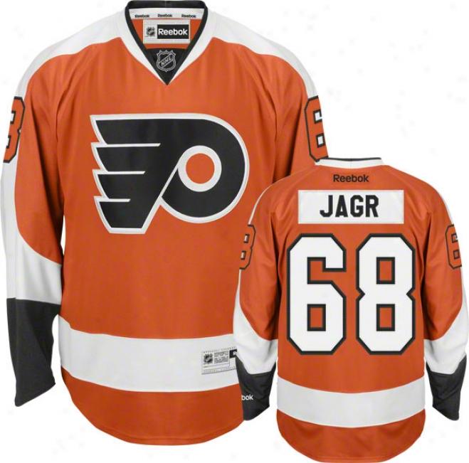 Jaromir Jagr Philadelphia Flyers #68 Reebok Premier Nhl Jersey