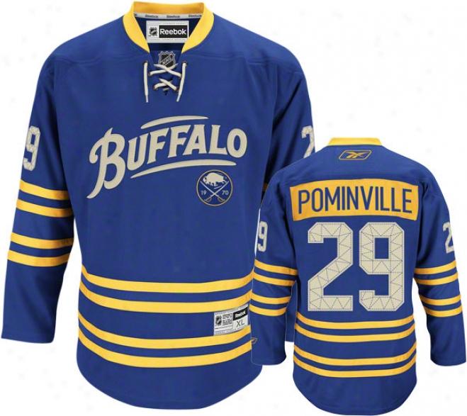 Jason Pomibville Jersey: Reebok Alternate #29 Buffalo Sabres Premier Jersey