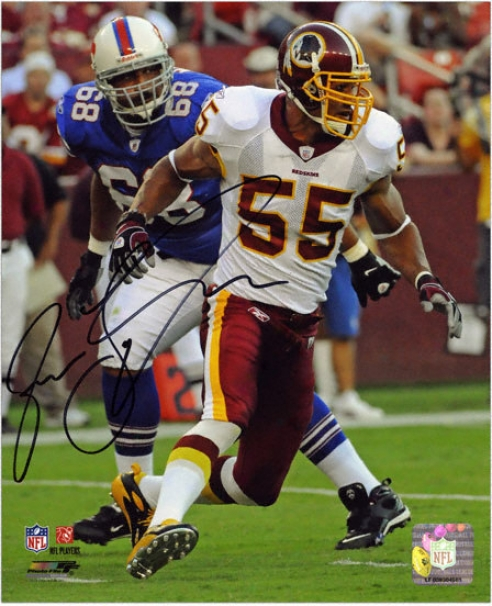 Jason Taylor Washington Redskins - Vs Bills - Autographed 8x10 Photograph