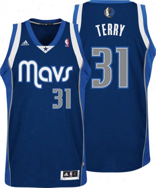 Jason Terry Alternate Adidas Revolution 30 Swingman Dallas Mavericks Jersey
