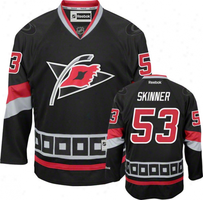 Jeff Skinner Jersey: Reebok Alternate #553 Carolina Hurricanes Premier Jersey