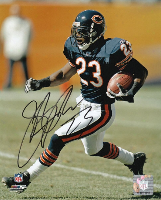Jerry Azzumah Signed Photograph - Chicago Bears Acting Autographed 8x10 Picture