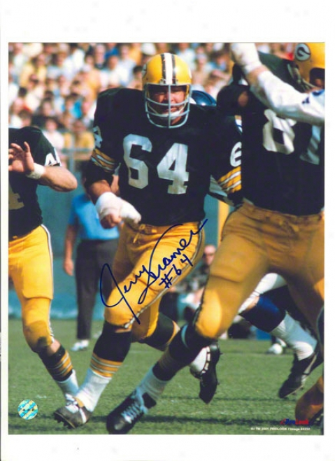Jerry Kramer Autographed Green Bay Packers 8x10 Photo