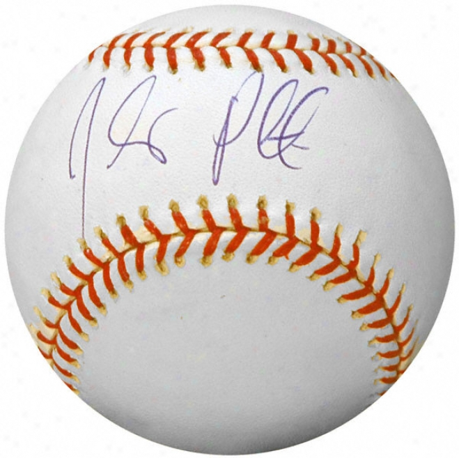 Jhonny Peralta Signed Baseball