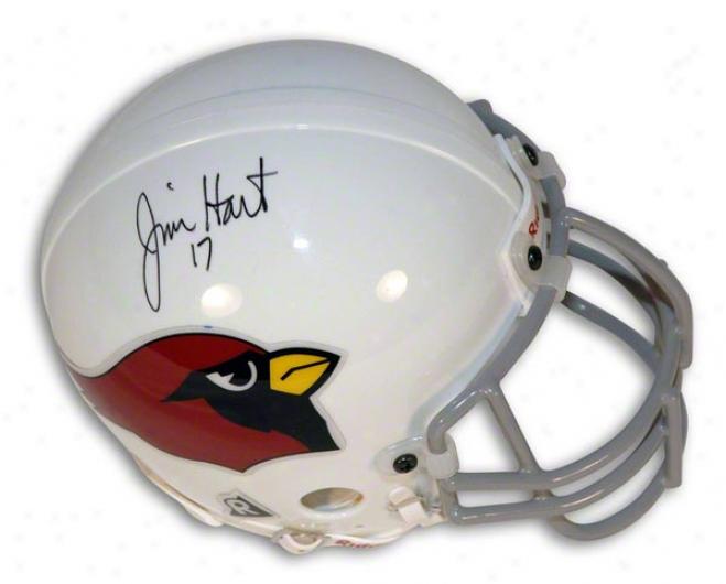 Jim Hart Autographed St. Louis Cardinals Mini Helmet
