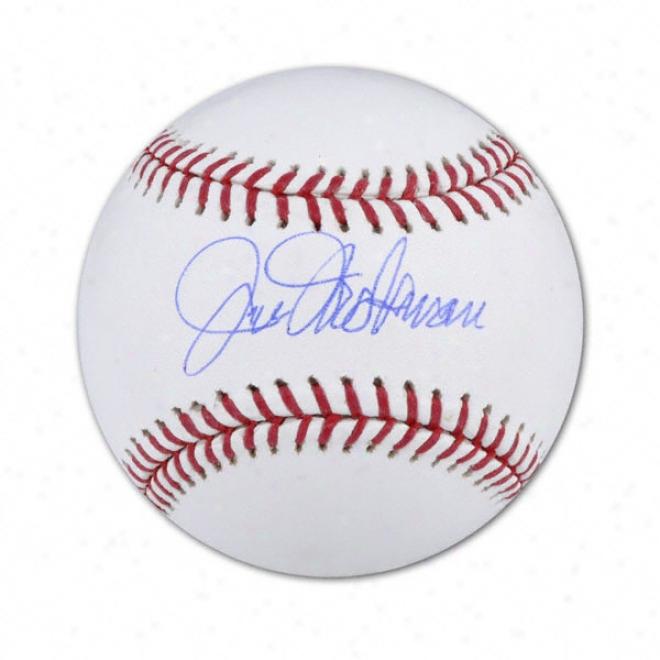 Jim Hickman Autographed Baseball