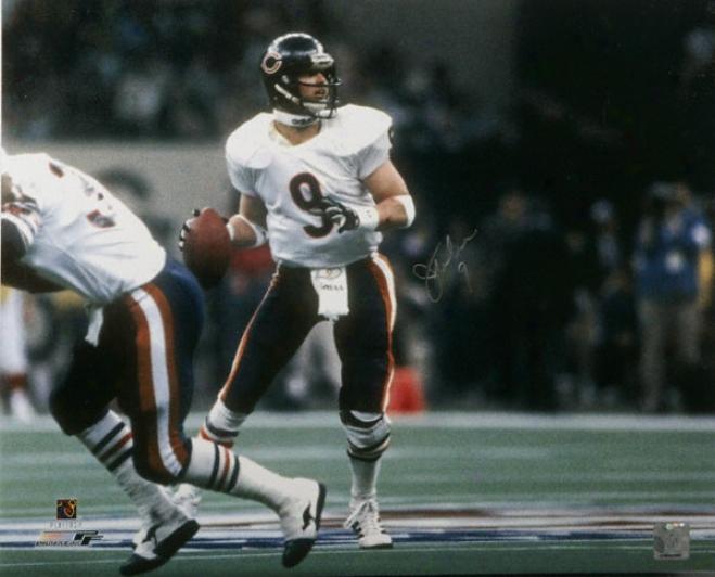 Jim Mcmahon Chicago Bears - Super Bowl Xx - Autographed 16x20 Photograph