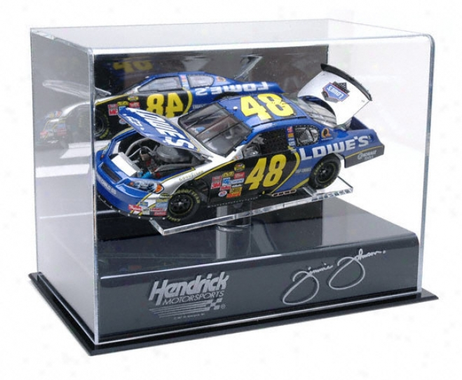 Jimmie Johnson 1/24th Die Cast Exhibition Case With Platform