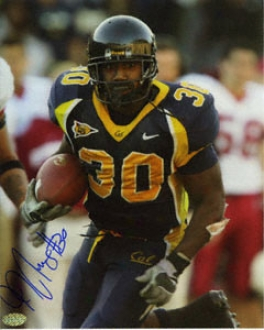J.j. Arrington California Golden Bears 8x10 Autographed Photograph