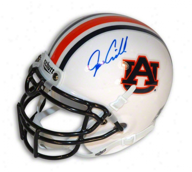 Joe Cribbs Autographed Auburn University Mini Helmet