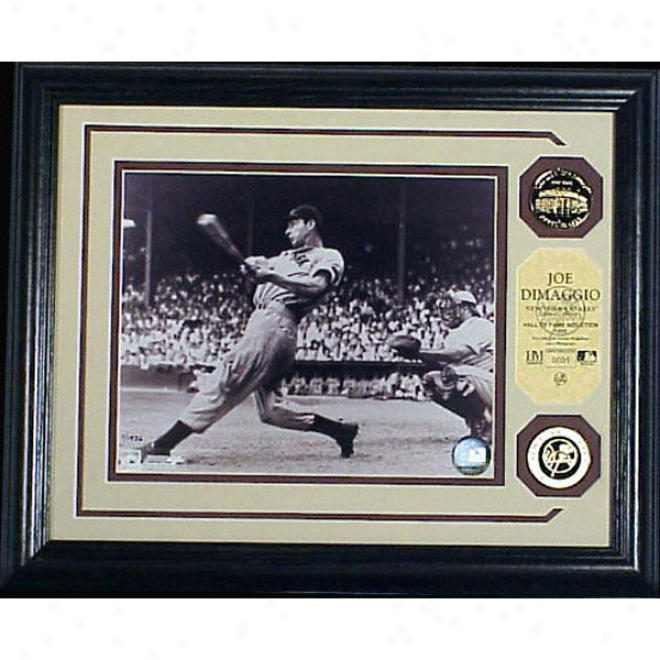 Joe Dimaggio New York Yankees Photo Mint