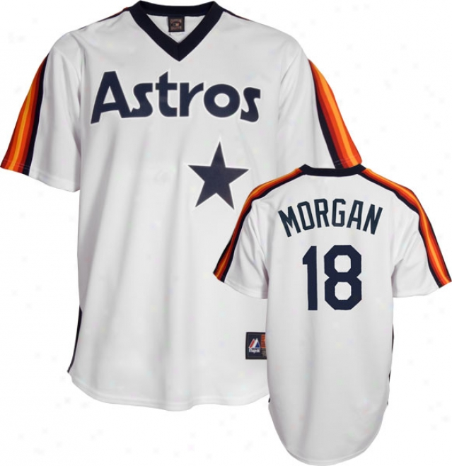 Joe Morgan Houston Astros Cooperstown Replica Jersey