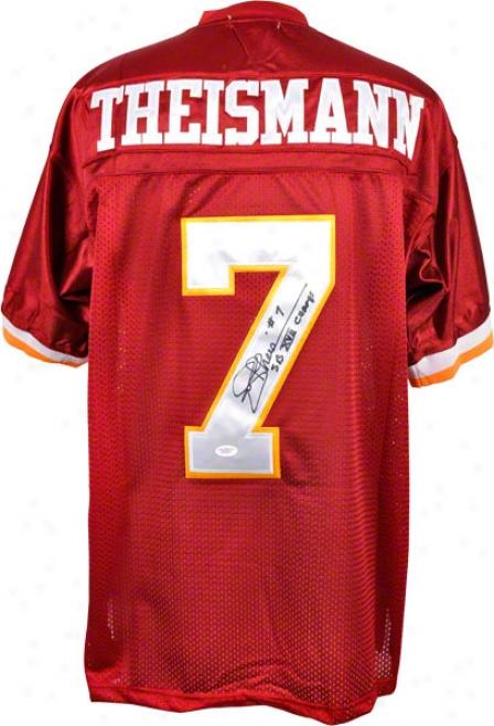 Joe Theismann Autographed Jersey  Details: Washington Redskins, Mitchell & Ness, With &quotsb Xvii Champs&quot Inscription