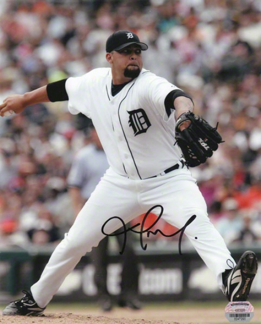 Joel Zumaya Detroit Tigers - Pitching - Autographed 8x10 Photo