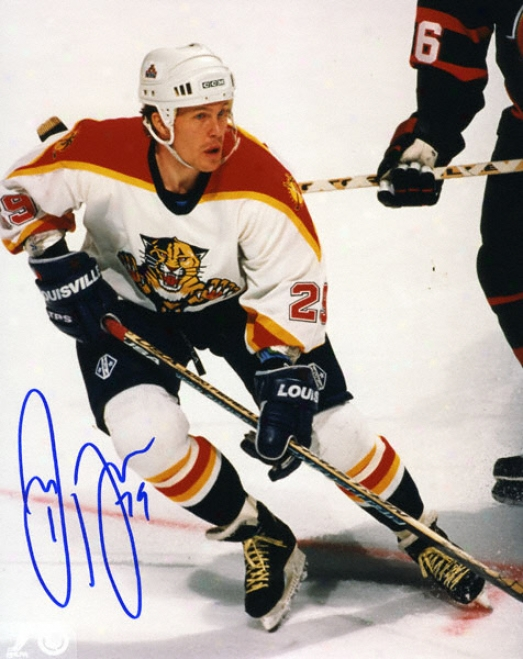 Johan Garpenl0v Florida Panthers 8x10 Autographed Photo