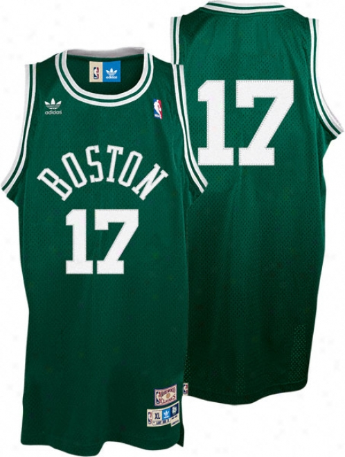 John Havlicek Jersey: Adidas Green Throwback Swingman #17 Boston Celtics Jersey
