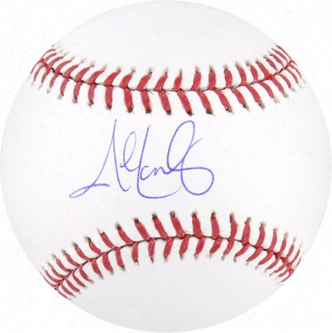 John Lackey Autogfaphed Baseball