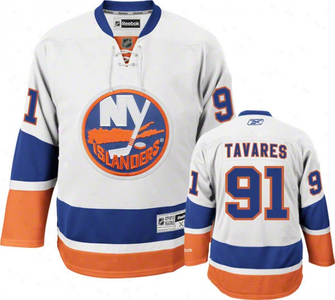 John Tavares Jersey: Reebok Of a ~ color #91 New York Islanders Premier Jersey