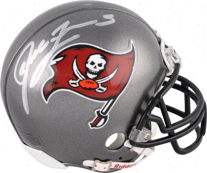Josh Freeman Autographed Mini Helmet  Details: Tampa Bay Bufcaneers