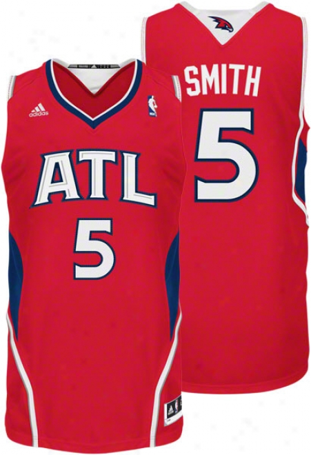 Josh Smith Alternate Adidas Revolution 30 Swingman Atlanta Hawks Jerseg