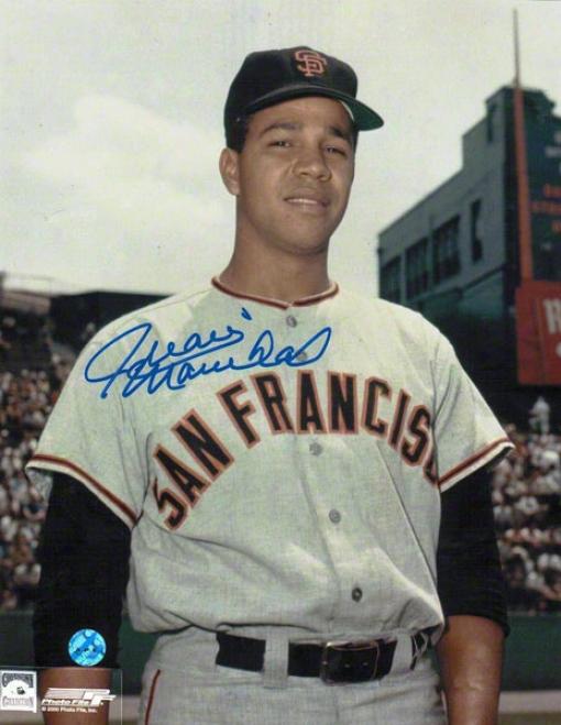 Juan Marichal San Francisco Giants Autographed 8x10 Photo Pose