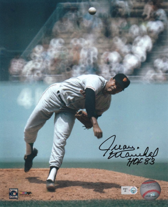 Juan Marichal San Francisco Giants - Pitching - Autographed 8x10 Photograph With Hof '83 Inscription