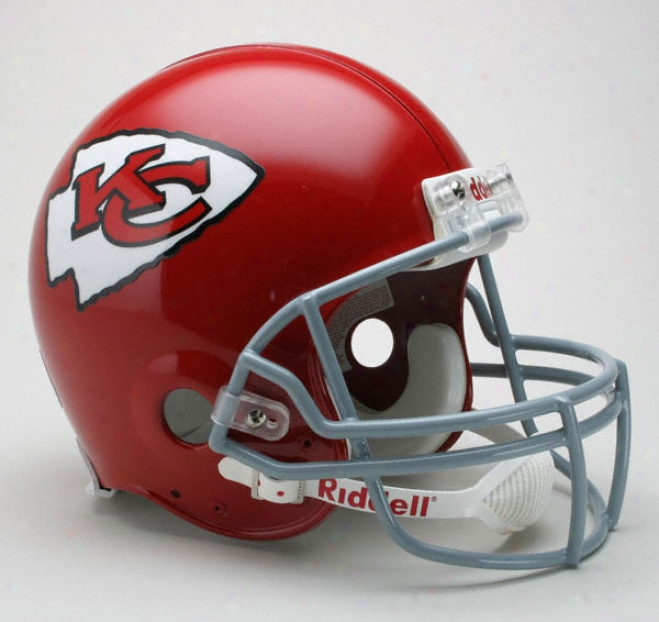 Kansas City Cuiefs 1963-1973 Authentic Pro Line Riddell Throbwack Full Size Helmet