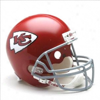Kansas City Chiefs 1963-1973 Deluxe Replica Riddell Throwback Full Size Helmet