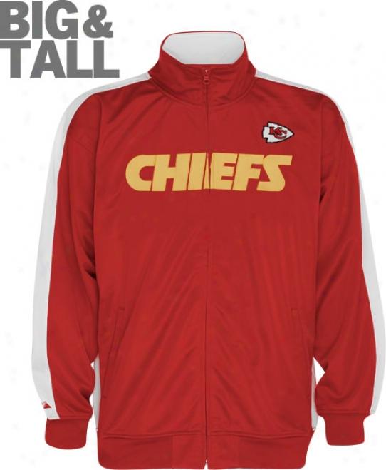 Kansas City Chiefs Big & Tall Qb Track Jacket