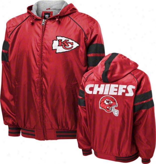 Kansas City Chiefs Dedication Full-zip Lightweight Jacket