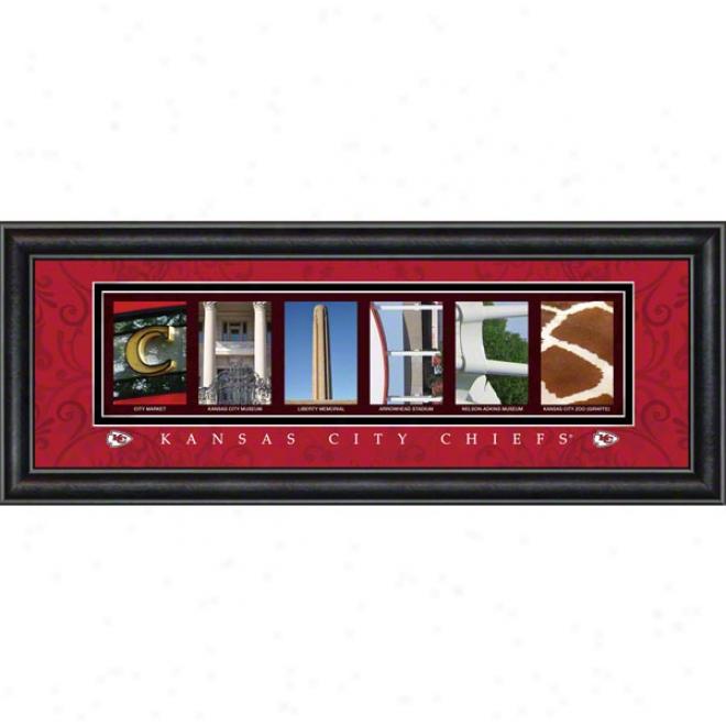 Kansas City Chiefs Letter Art