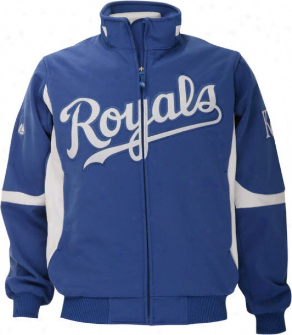 Kanxas City Royals Authentic Collection Therma Base Premier Jacket