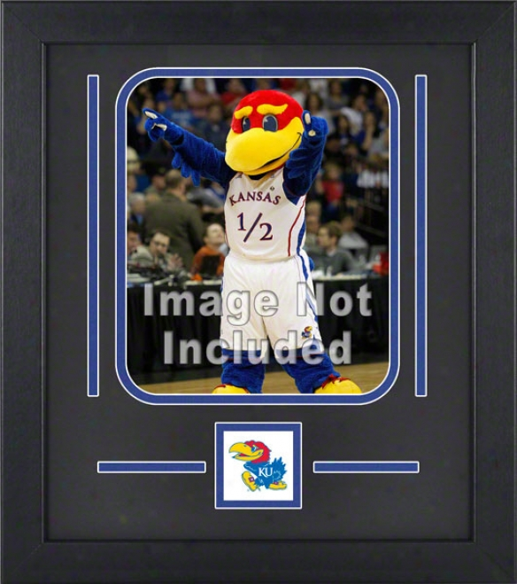 Kanssas Jayhawks 8x10 Vertical Setup Frame With Team Logo