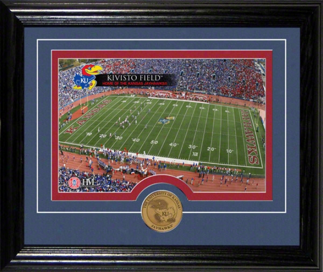 Kansas Jayhawks Kivisto Field Desktop Photograph