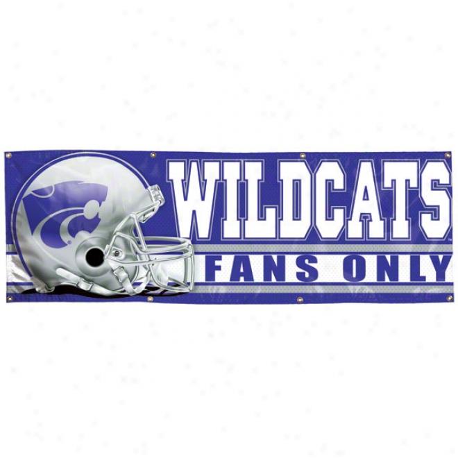 Kansas State Wildcats 2x6 Vinyl Bsnner