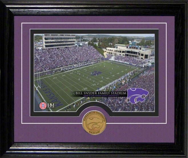 Kansas State Wildcats Bill Snyder Family Stadium Desktop Photograph