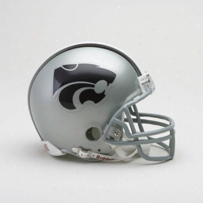 Kansas State Wildcats Riddell Mini Helmet