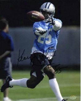 Keary Colbert Carolina Panthers 8x10 Autographed Photograph